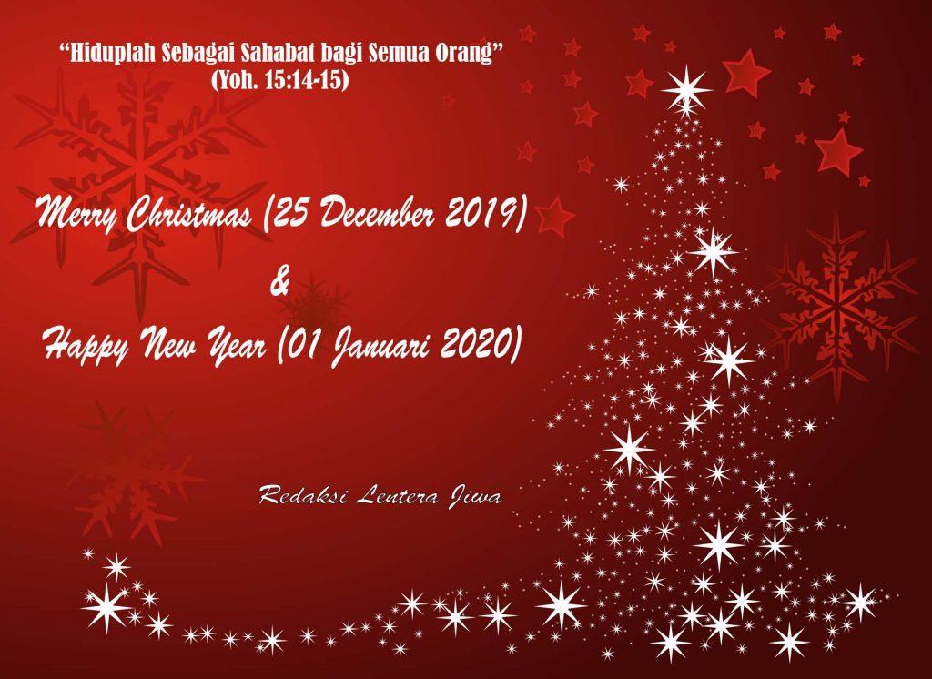 Ucapan Selamat Natal dan Tahun Baru